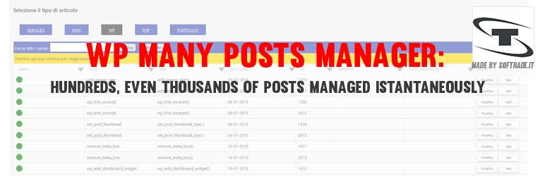 WP Many Posts WordPress plugin - Softrade