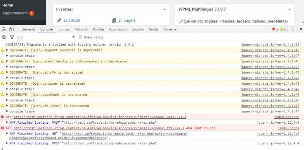 debug javascript dalla console di Chrome